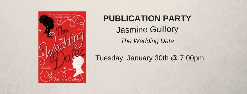 Jasmine Guillory debuts THE WEDDING DATE